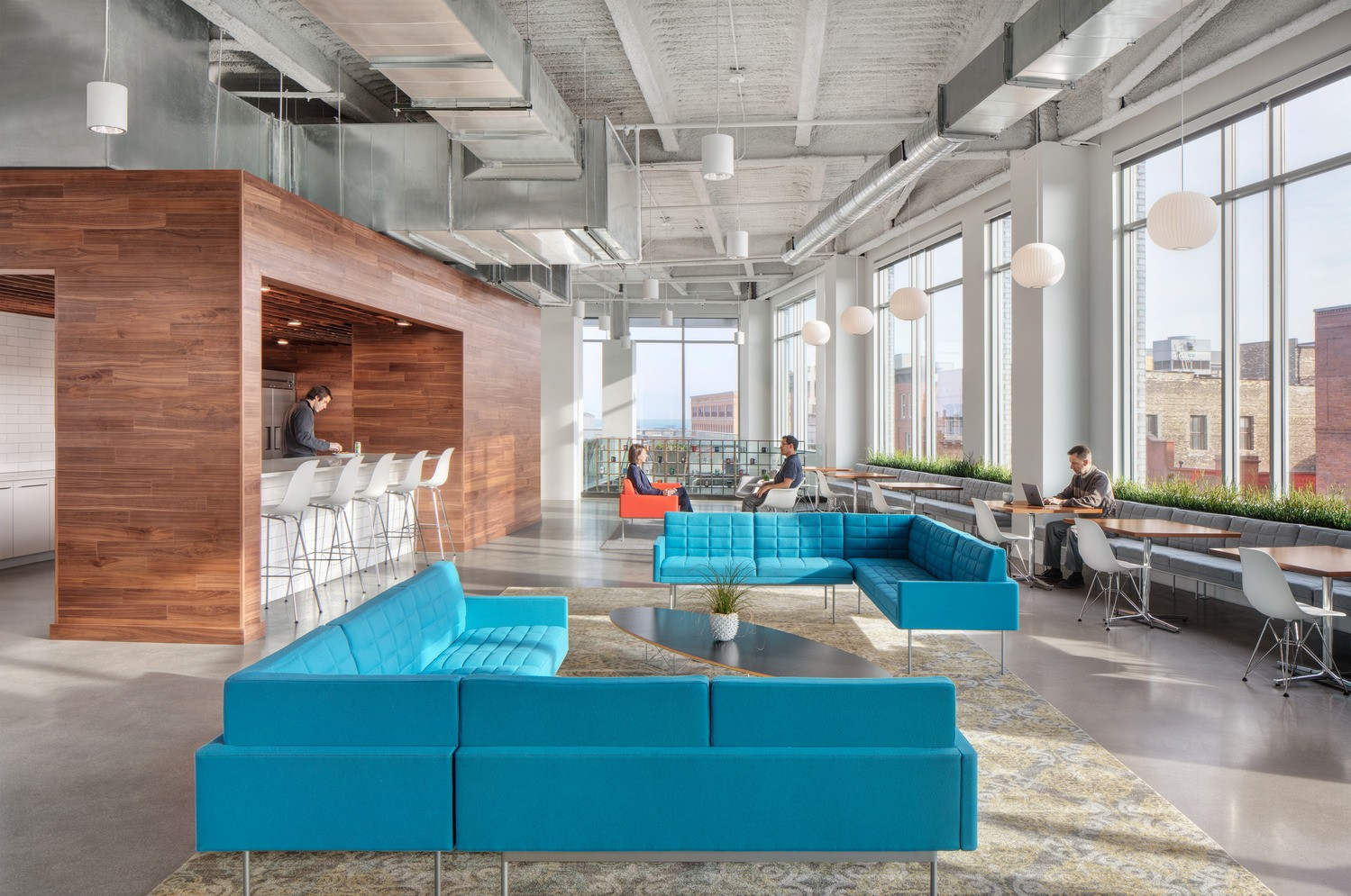 Digital measures supports technology innovation in progressive workplace hga for Milwaukee interior design firms