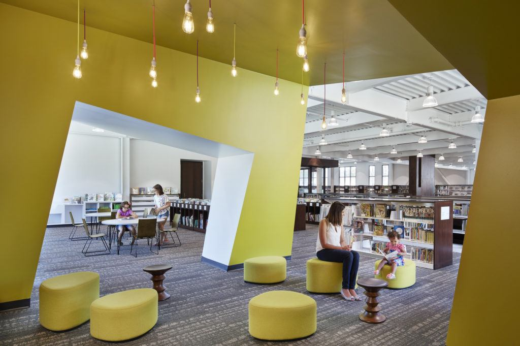 Columbia Heights Library Wins Library Interior Design Award Hga