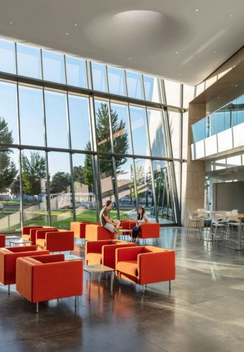 Boise State University Center for the Visual Arts interior 1