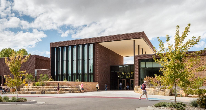 Buchanan Center for the Performing Arts exterior shot