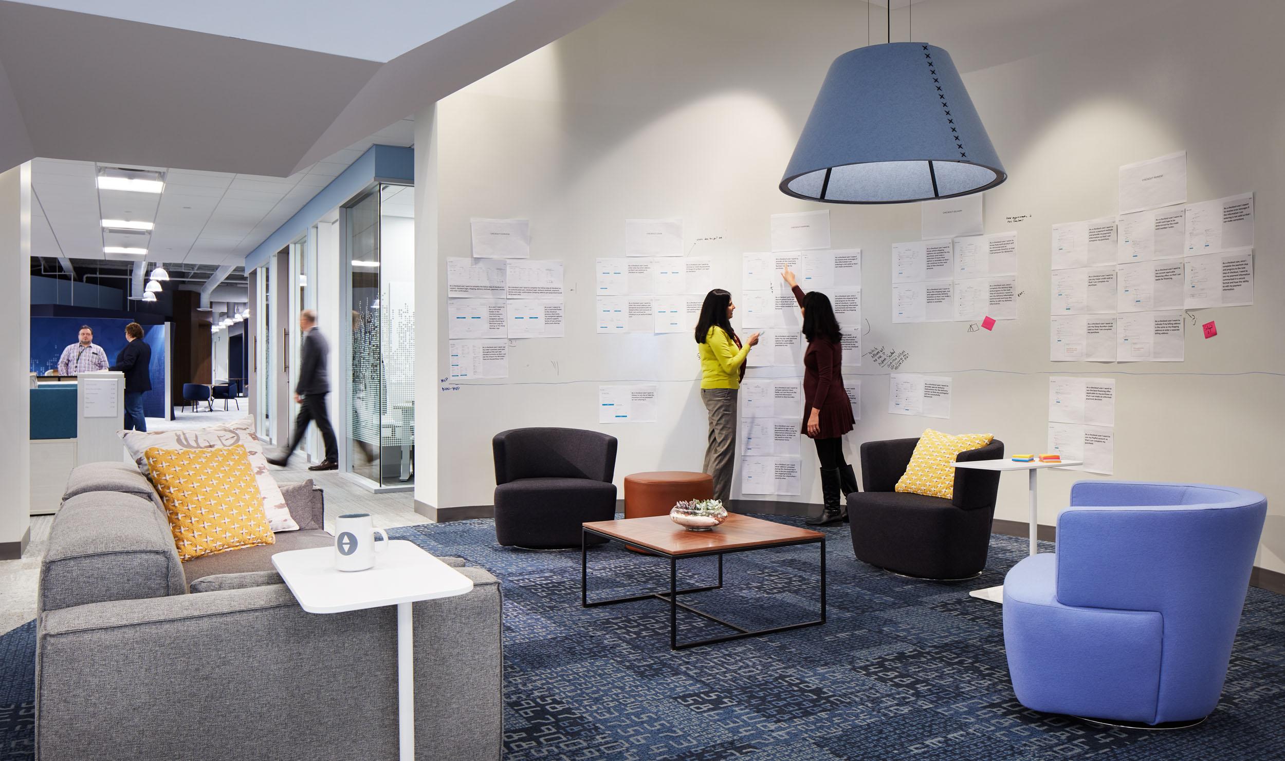 Sleep Number Headquarters interior collaboration space 2