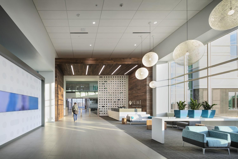 Prime Therapeutics interior lobby