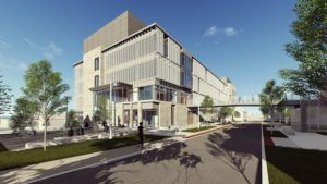Lehigh University Health, Science and Technology Building exterior southwest