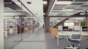 Lehigh University Health, Science and Technology Building workspace 2
