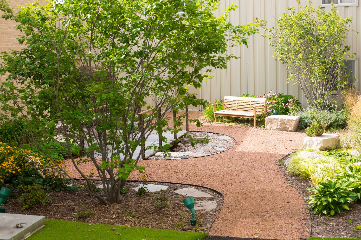 A Therapeutic Garden That Helps People Heal Hga