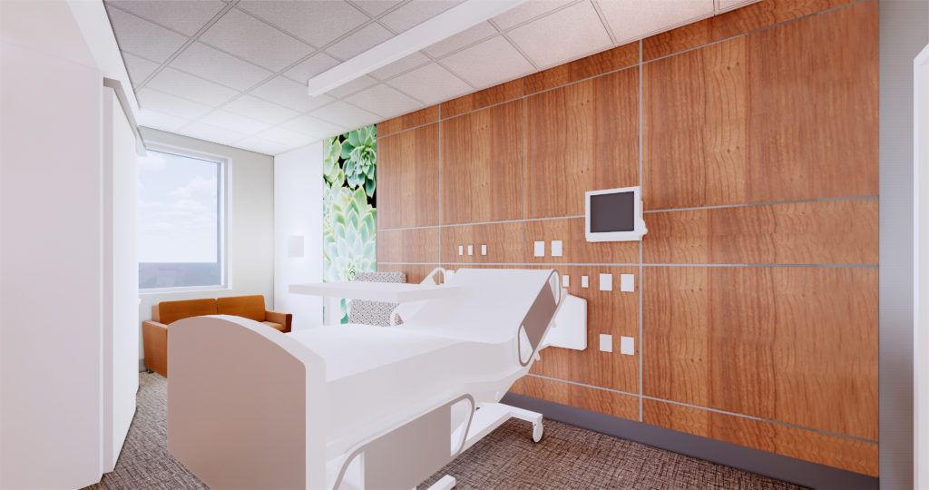 Flexible Prefabrication Construction Streamlines Healthcare Interior Design Prefabricated