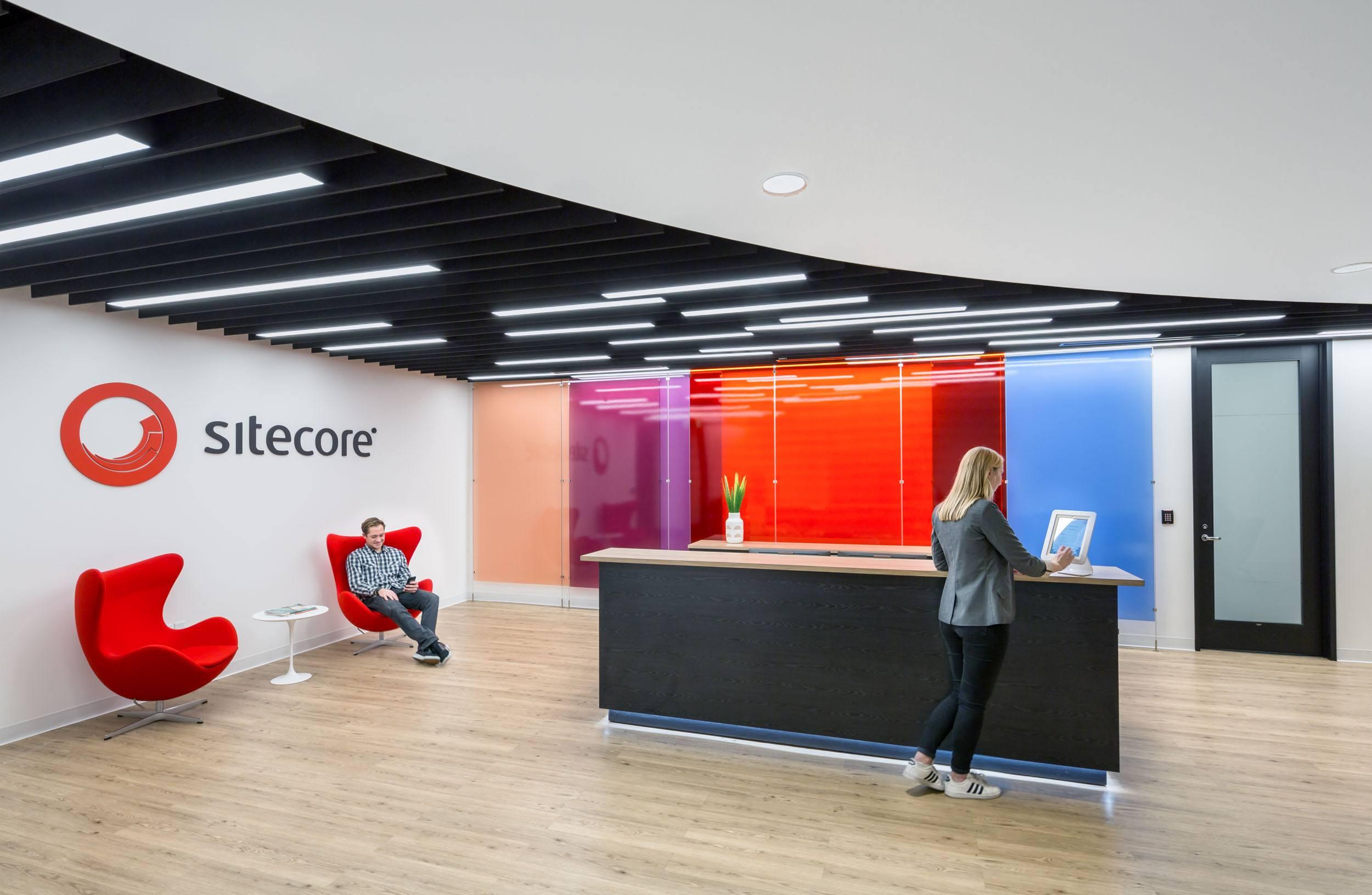 Sitecore offices interior lobby 2