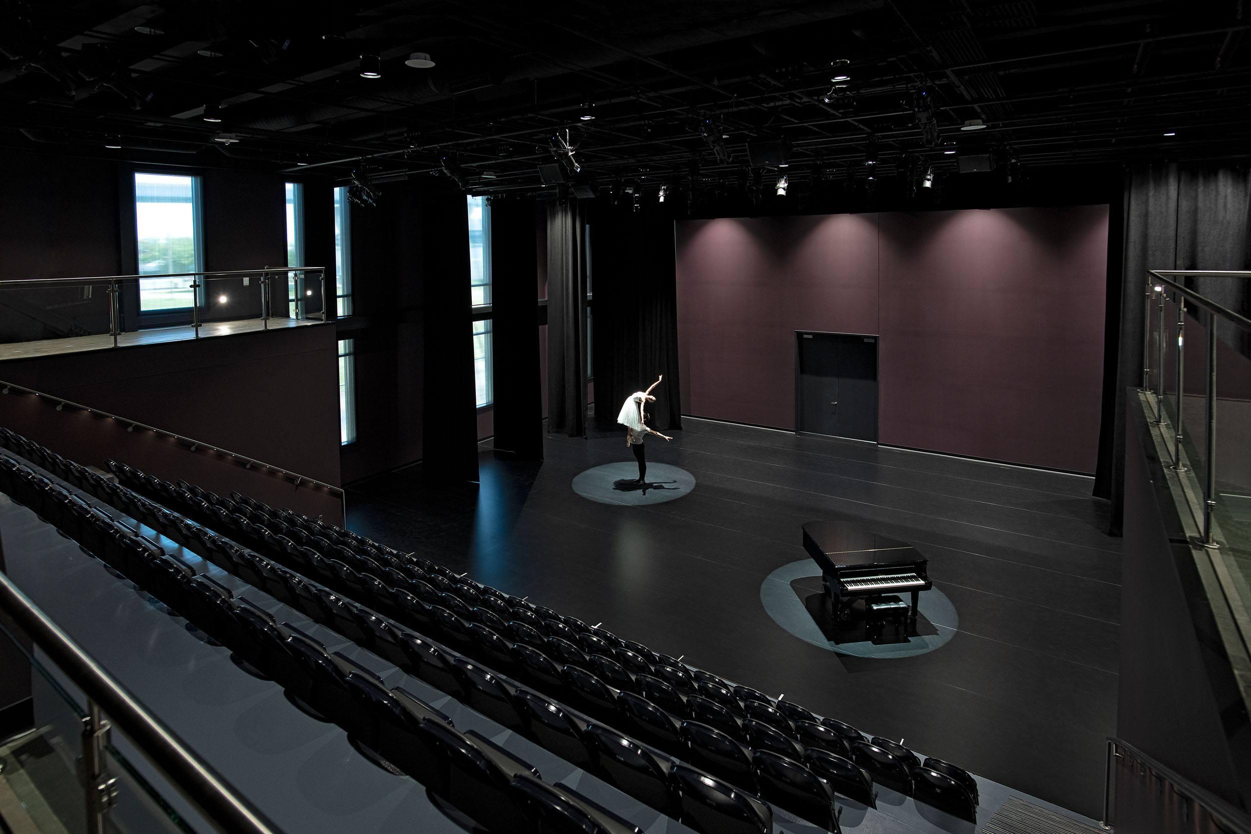 Milwaukee Ballet interior stage