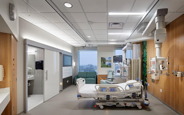 Abbott Northwestern Neuro Patient Room 1