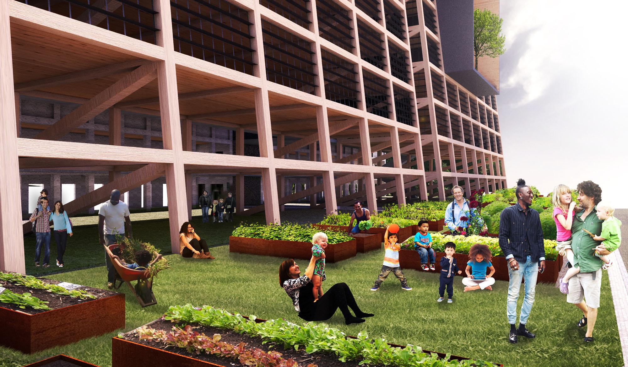 Aequitas urban farm view