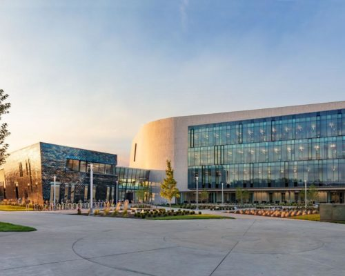 Boise State University Center for the Visual Arts exterior 6