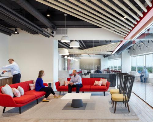 Dairy Queen headquarters interior lounge area 2