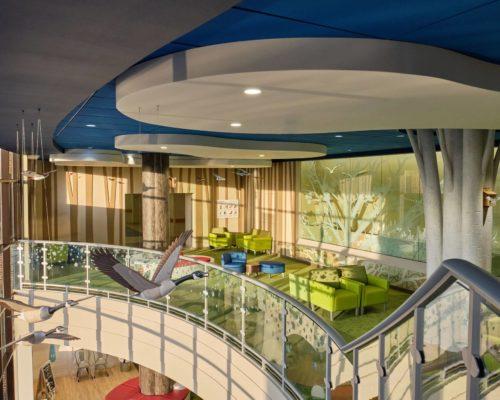 Mayo Clinic Children's Center at Saint Marys Campus interior lobby 6