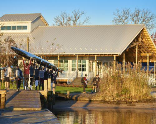 Washington College Hodson Boathouse Exterior 1