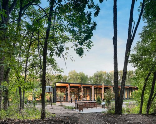 Westwood Hills Nature Center exterior 1