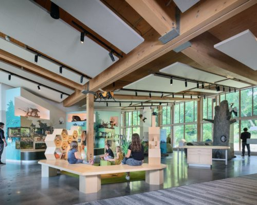 Westwood Hills Nature Center interior 2