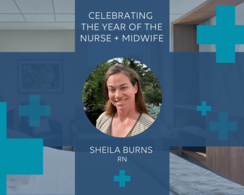 Year of the Nurse - Shelia Burns